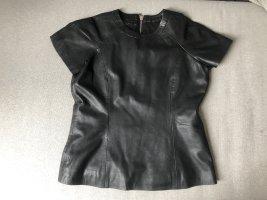 Leder Shirt Echtleder mit Reissverschluss FR 40 (M)