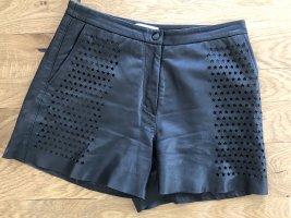 Leder Shorts von Sandro