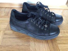 Leder-Sneaker Gr. 40