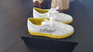 Marc Cain Lace Shoes white-yellow