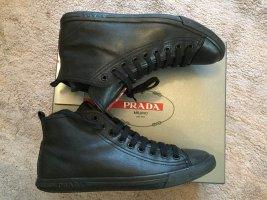 Leder Sneaker von Prada