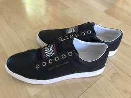 Tommy Hilfiger Slip-on Sneakers dark blue leather