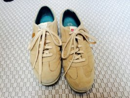 Camper Lace-Up Sneaker sand brown leather