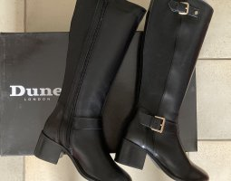 DUNE LONDON Bottes stretch noir