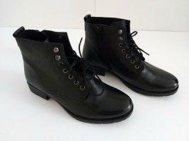 footflexx Sznurowane botki czarny