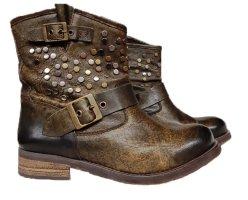 *  Leder Stiefelleten-Boots  * Gr. 40 *  Top Zustand *