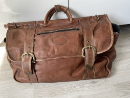 Travel Bag brown-cognac-coloured