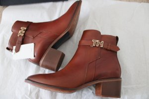 Tommy Hilfiger Winter Booties cognac-coloured-gold-colored