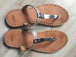 Leder Zehentrenner Sandalen neuwertig
