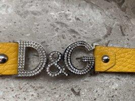 Dolce & Gabbana Braccialetto di cuoio multicolore
