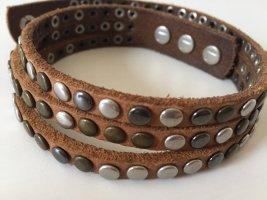 Liebeskind Leather Bracelet multicolored