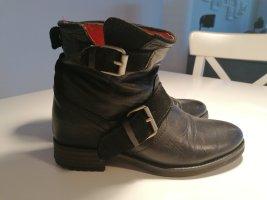 Buffalo Wciągane buty za kostkę czarny