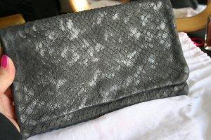 abro Bolso de mano gris antracita Cuero