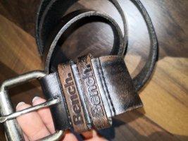 Bench Leather Belt dark brown