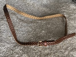 Braided Belt brown-gold-colored