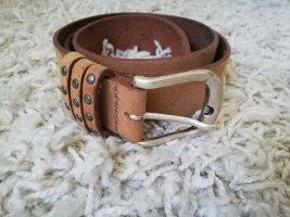 Street One Leather Belt multicolored