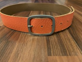 edc by Esprit Leather Belt light orange