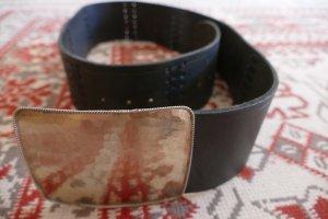 Hip Belt anthracite leather