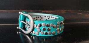 keine Marke Leather Belt multicolored leather