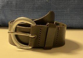 Levi's Leather Belt dark brown-black brown
