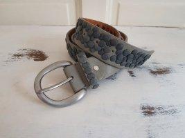 Studded Belt multicolored leather