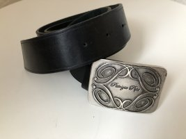 Patricia Pepe Leather Belt black leather