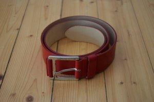Ledergürtel rot - Versace Jeans Couture