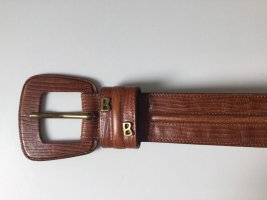 Bogner Leather Belt cognac-coloured