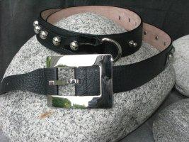 Dolce & Gabbana Ceinture en cuir noir cuir