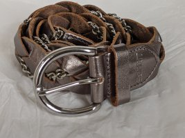 Esprit Braided Belt bronze-colored