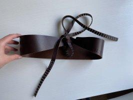 Miss Sixty Leather Belt dark brown