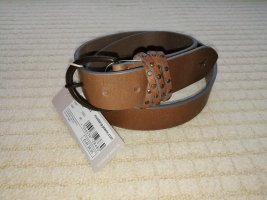 Mustang Leather Belt light brown