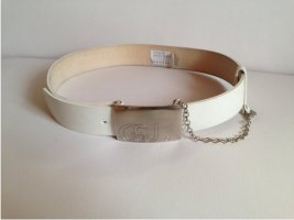 Strenesse Hip Belt natural white leather