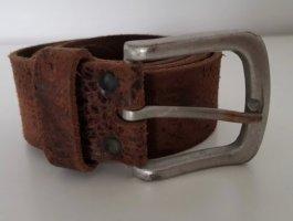 Vanzetti Leather Belt dark brown