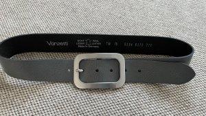Vanzetti Cinturón de cuero gris claro Cuero