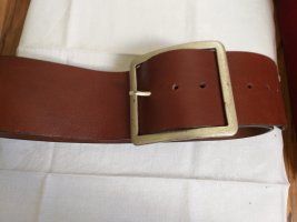 Vera Pelle Leather Belt cognac-coloured