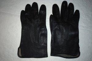 Unbekannte Marke Guanto in pelle nero