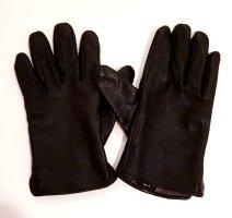 echtes leder Leren handschoenen zwart Leer