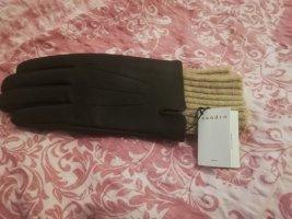Sandro Paris Leren handschoenen bruin