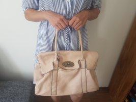 Lederhandtasche Rosa
