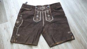 Elfi Maisetschläger Pantalon bavarois brun