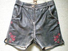 Spieht & Wensky Pantalone in pelle tradizionale marrone Pelle