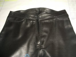 Mauritius Leather Trousers black leather
