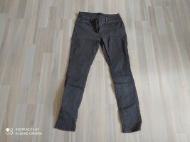 Esprit Leather Trousers grey cotton