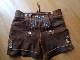 Stockerpoint Pantalone in pelle tradizionale bronzo Pelle