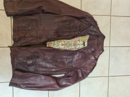 Jones Leather Jacket grey lilac