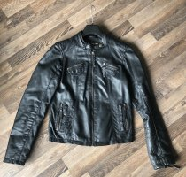 AJC Leather Jacket black leather
