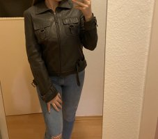 ARMA Leather Jacket anthracite