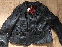 Walter Leather Jacket black