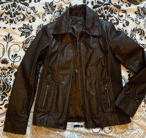 Jobis Leather Jacket dark brown-black brown
